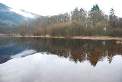 Loch écossais Trossachs Image stock