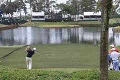 Loch 17, die Spieler, TPC Sawgrass, Florida Lizenzfreie Stockbilder