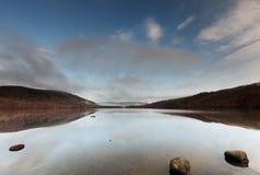 Loch Achilty Images libres de droits