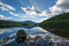 Loch Achray royalty-vrije stock foto's