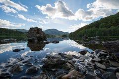 Loch Achray royalty-vrije stock afbeeldingen