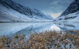 Loch Achtriochtan stock fotografie
