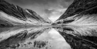 Loch Achtriochtan Royalty-vrije Stock Afbeeldingen