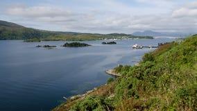 Loch Alsh images libres de droits