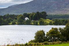 LOCH ALVIE, BADENOCH and STRATHSPEY/SCOTLAND - AUGUST 26 : Celti Royalty Free Stock Photography