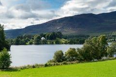 LOCH ALVIE, BADENOCH and STRATHSPEY/SCOTLAND - AUGUST 26 : Celti Royalty Free Stock Images