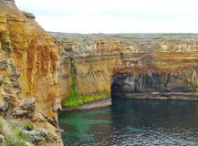 The Loch Ard Gorge Royalty Free Stock Photos
