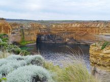 The Loch Ard Gorge Royalty Free Stock Images
