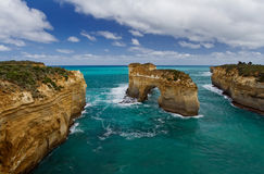 Loch Ard Gorge. Taken close to the Twelve Apostles in Victoria - South Australia stock image