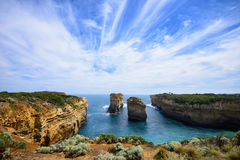 Loch Ard Gorge along the Great Ocean Road Stock Images