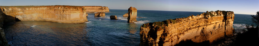 Loch Ard Gorge area, Victorian Coastline Royalty Free Stock Images