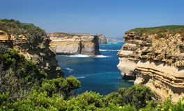 Loch Ard Gorge Australia Stock Photos