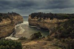 Loch Ard Gorge, Australia Stock Photography