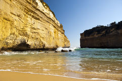 Loch Ard Gorge Beach Royalty Free Stock Photos