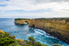 Loch Ard Gorge. Cove at Loch Ard Gorge along the Great Ocean Road, Victoria, Australia Stock Photo