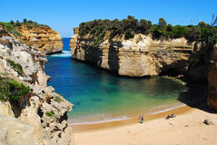 Loch Ard Gorge on the Great Ocean Road Royalty Free Stock Photography