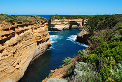 Loch Ard Gorge on the Great Ocean Road Stock Photo