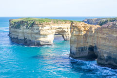 Loch ard Gorge by the Great Ocean Road (Australia) Stock Image