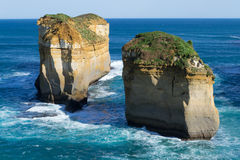 Loch ard Gorge by the Great Ocean Road (Australia) Stock Images