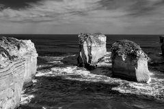 Loch ard Gorge by the Great Ocean Road (Australia) Royalty Free Stock Photo