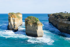 Loch ard Gorge by the Great Ocean Road (Australia) Royalty Free Stock Images