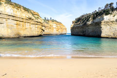Loch ard Gorge by the Great Ocean Road (Australia) Royalty Free Stock Photos