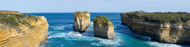 Loch ard Gorge by the Great Ocean Road (Australia) Royalty Free Stock Image