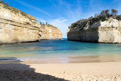 Loch ard Gorge by the Great Ocean Road (Australia) Stock Photos