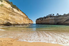 Loch Ard Gorge on the Great Ocean Road, Australia Stock Images