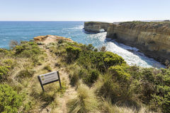 Loch Ard Gorge, Great Ocean Road, Australia Stock Photography
