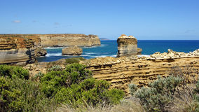 Loch Ard Gorge, Great Ocean Road, Australia Stock Photos