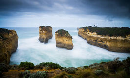 Loch Ard Gorge at Great Ocean Road Royalty Free Stock Photo