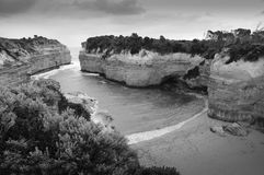 Landscape of Great Ocean Road Royalty Free Stock Photo