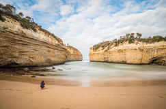 Loch Ard Gorge, Great Ocean Road, Victoria, Australia. Stock Photography