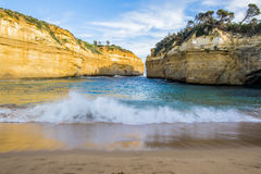 Loch Ard Gorge. Located along the Great Ocean Road near the twelve Apostles rock formation, Victoria, Australia Stock Photo