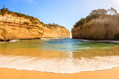 Loch Ard Gorge is part of Port Campbell National Park on the Great Ocean Road, Victoria, Australia