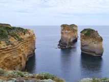 The Loch Ard Gorge Royalty Free Stock Photo