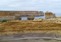 Loch Ard Gorge in Port Campbell national park Stock Photography