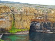 Loch Ard Gorge in Port Campbell national park Royalty Free Stock Image