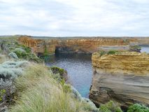 Loch Ard Gorge in Port Campbell national park Royalty Free Stock Photo