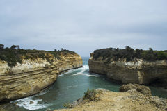 Loch Ard Gorge, Twelve Apostles, Great Ocean Road, Southern Victoria Stock Photo