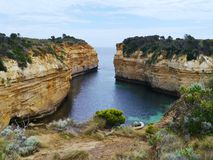 The Loch Ard Gorge in Victoria Royalty Free Stock Photo