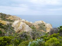 The Loch Ard Gorge in Victoria Stock Photography