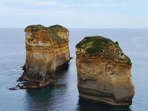The Loch Ard Gorge in victoria Royalty Free Stock Image