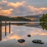 Loch Ard odbicia Obraz Stock