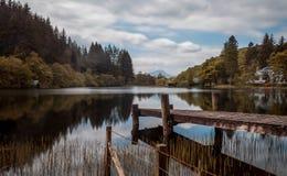 Loch Ard, Scotland. Loch Ard reflections. the trossachs Scotland Stock Image
