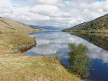 Loch Arkaig, Scotland in spring Stock Photography