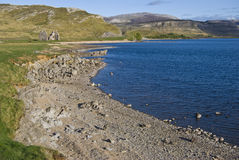 Loch Assynt image libre de droits