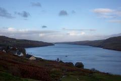 Loch auf Insel von Skye Stockfoto