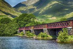 Loch Awe bridge Stock Photo
